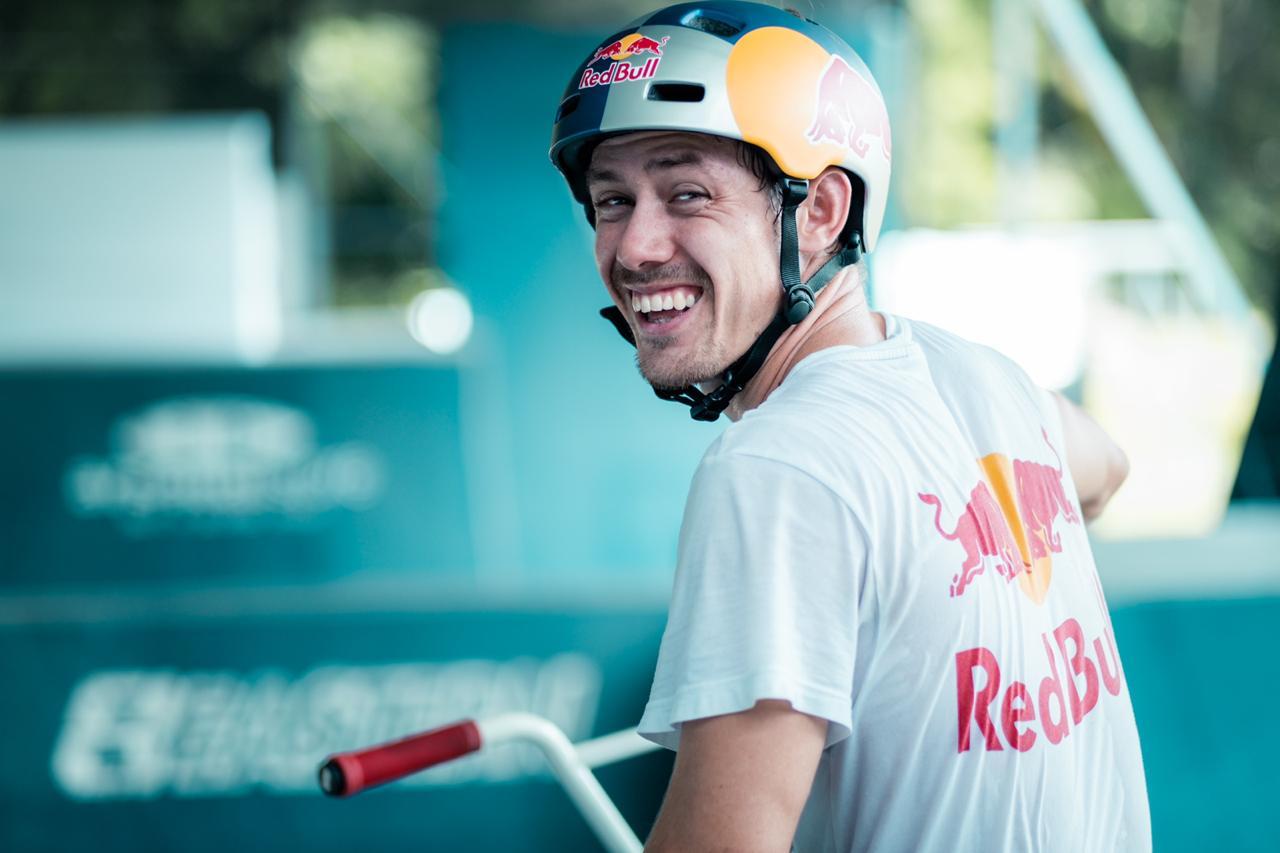 El nacional Kenneth Tencio está disputando el Mundial de BMX Freestyle FISE