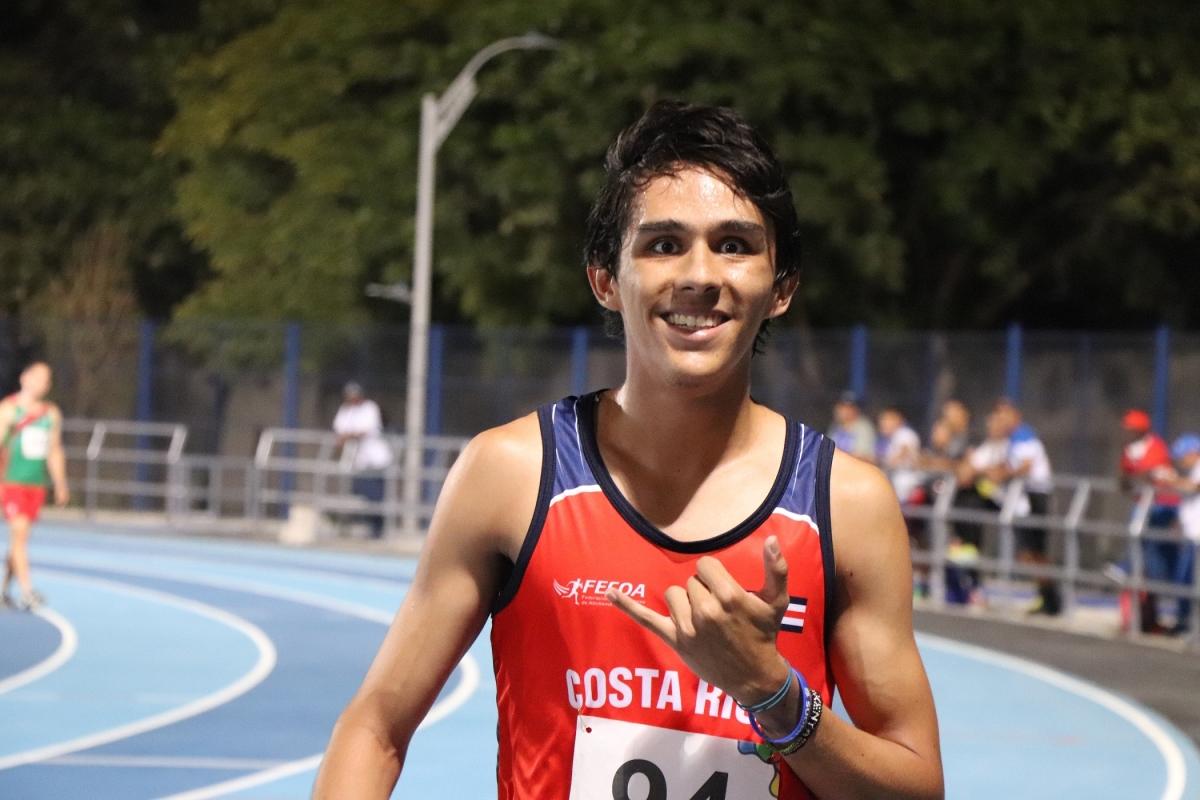 Federación Costarricense de Atletismo oficializa primer récord nacional en pista bajo techo