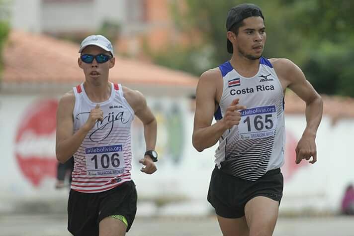 Ni el COVID-19 frena a los atletas de marcha
