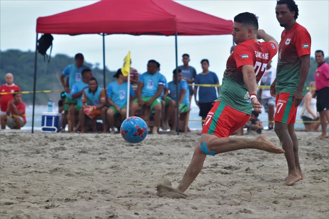 Campeonato de fútbol playa queda desierto y se reiniciará próximamente