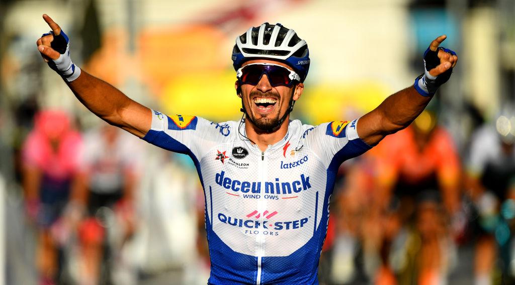 Alaphilippe lidera en la 2 etapa del Tour de Francia 2020