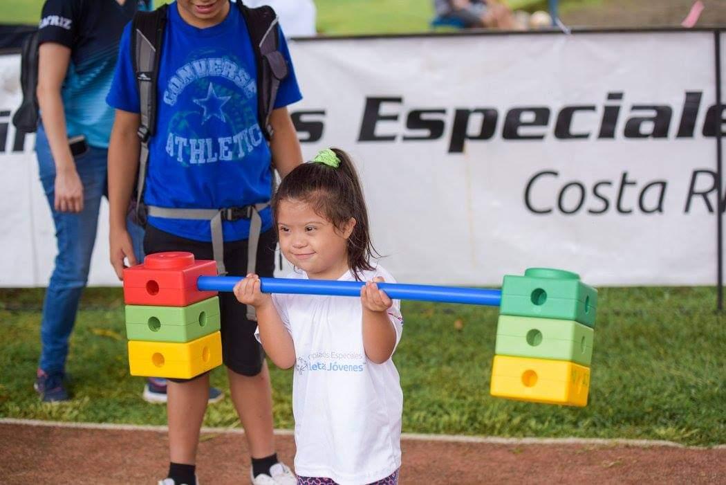 Ahora es  el turno virtual de los más pequeños de la familia de Olimpiadas Especiales Costa Rica!