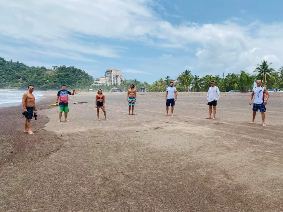 Asociación Costarricense de Surf crea nuevas figuras en el deporte a través de programa de entrenamientos de alto rendimiento