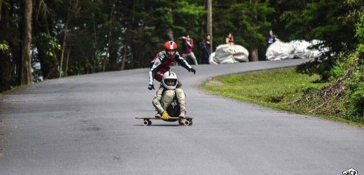 downhill en longboard