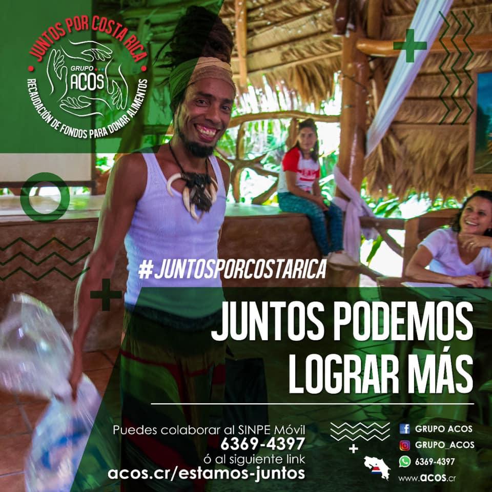 Deportistas costarricenses colaboran en la campaña de donación Juntos por Costa Rica