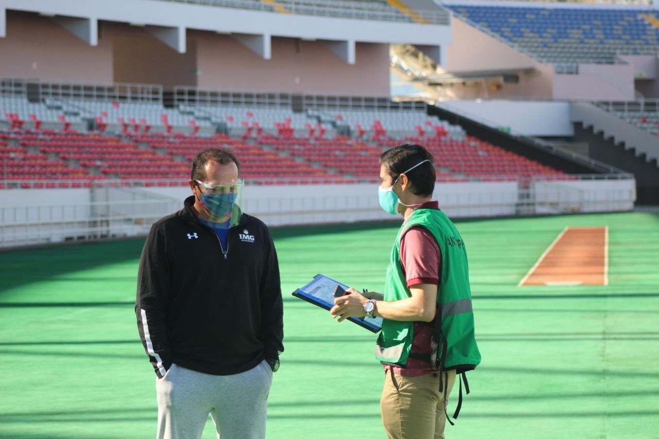 FECOA expuso el protocolo a los entrenadores interesados en volver a las competencias
