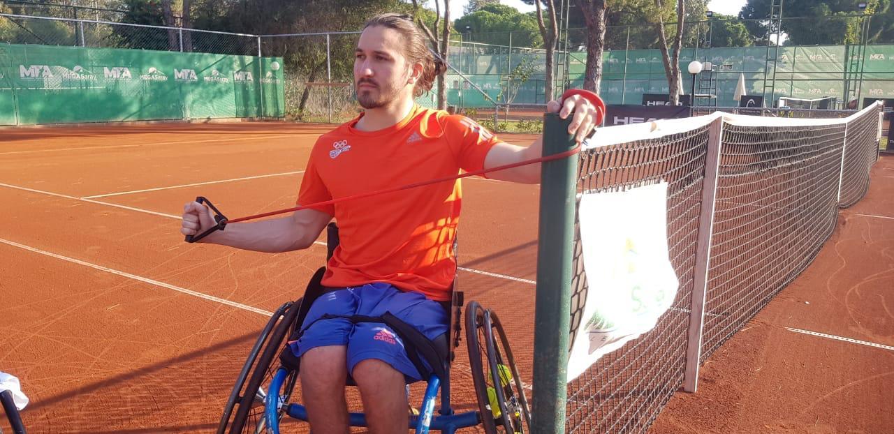 José Pablo Gil competirá en Turquía en busca de puntos para los Juegos Paralímpicos
