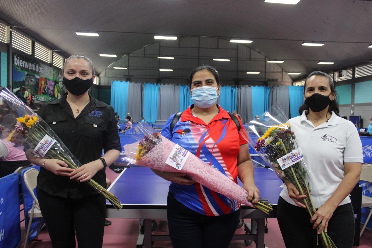 FECOTEME e ITTF Foundation rinden homenaje a la Mujer