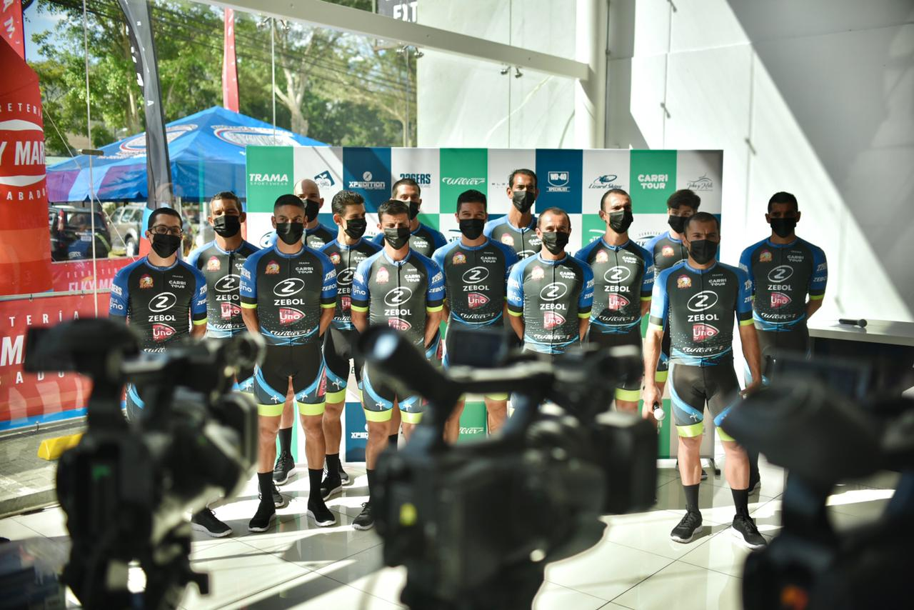 ZTE Cycling Team Zebol – TeleUno – Elky María es el nuevo equipo de ciclismo del país