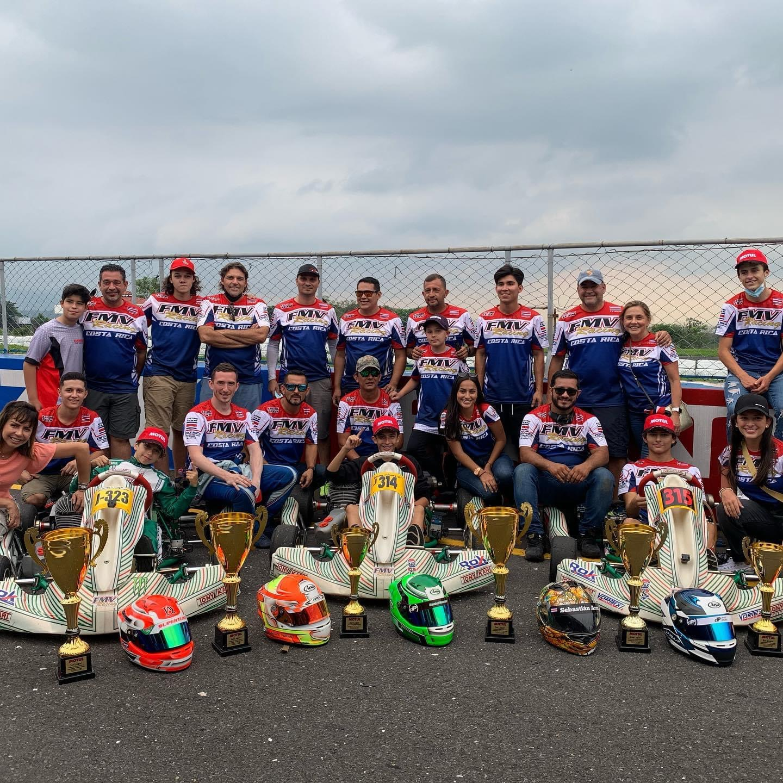 Ticos son los monarcas del Campeonato Centroamericano de Kartismo