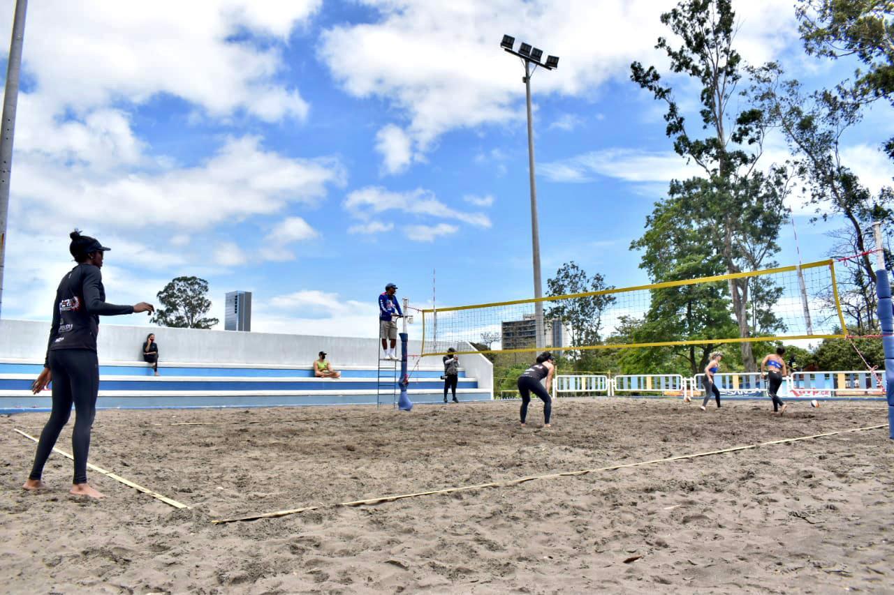 Voleibol playa volvió a las acciones este fin de semana