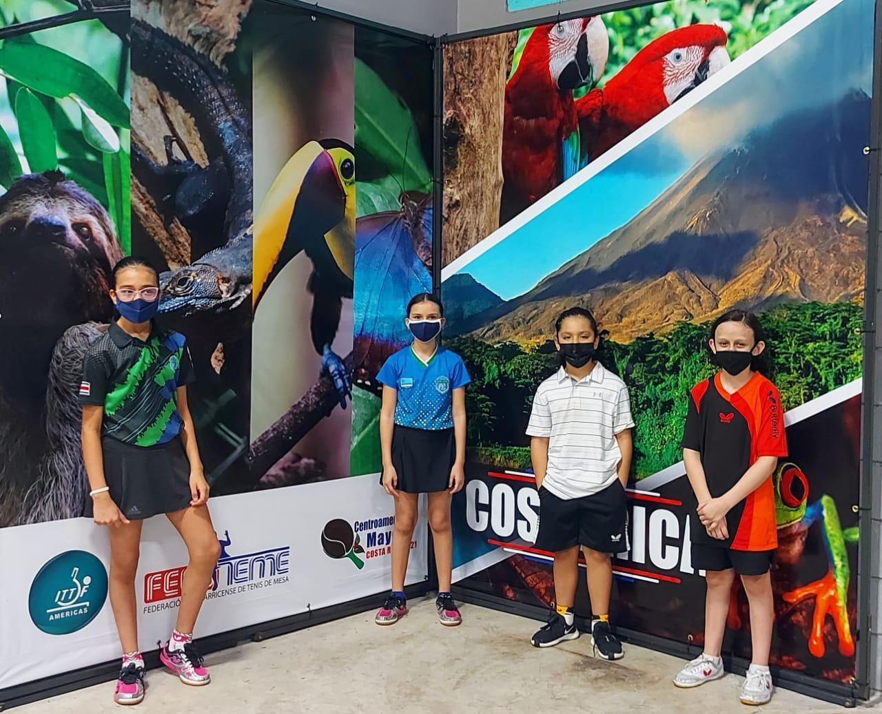 Tenimesistas de la categoría U-11 presentes en Campamento Hope Virtual.