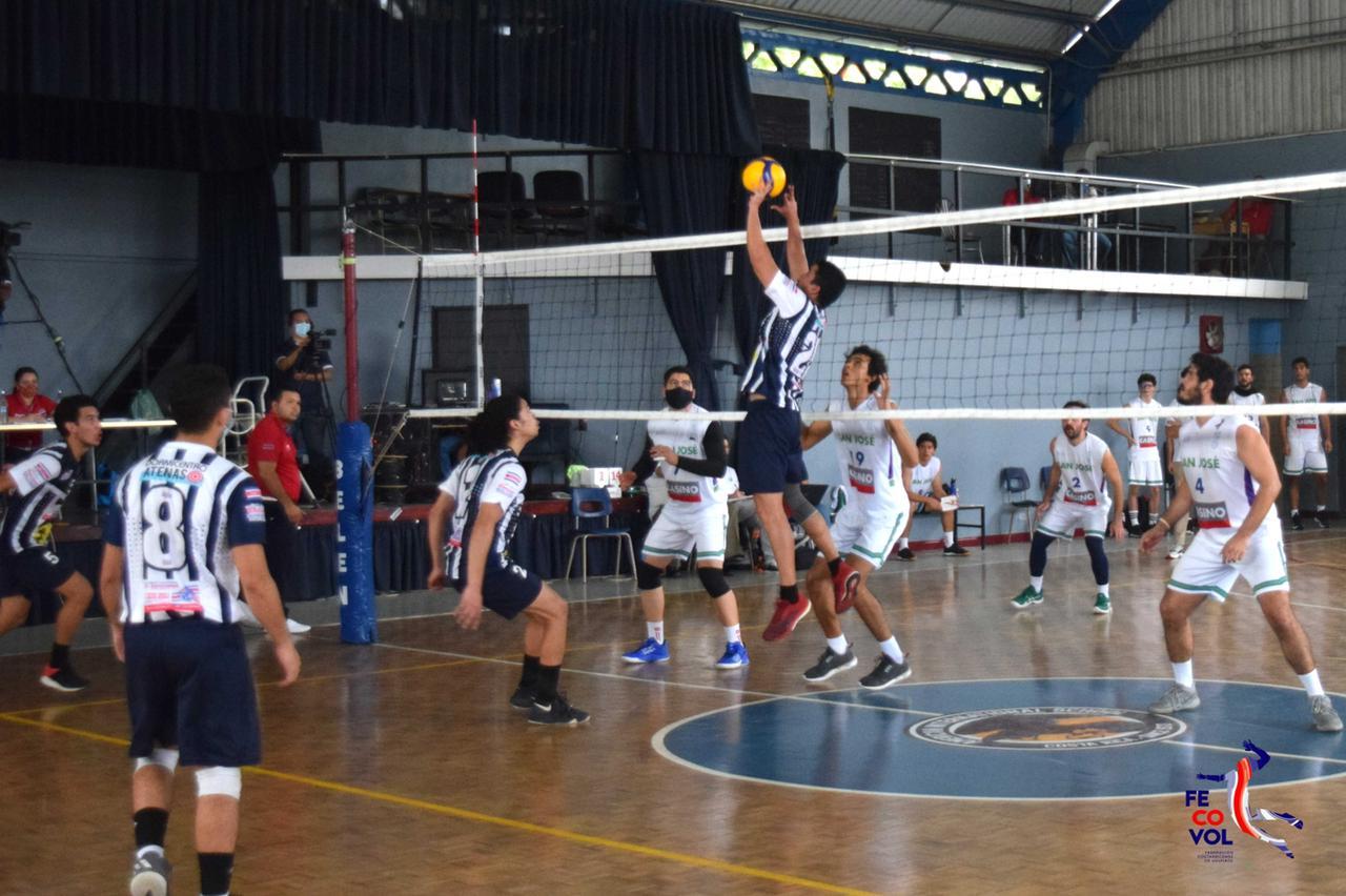 San José y Atenas campeones en el Torneo de Copa 2021 en el voleibol
