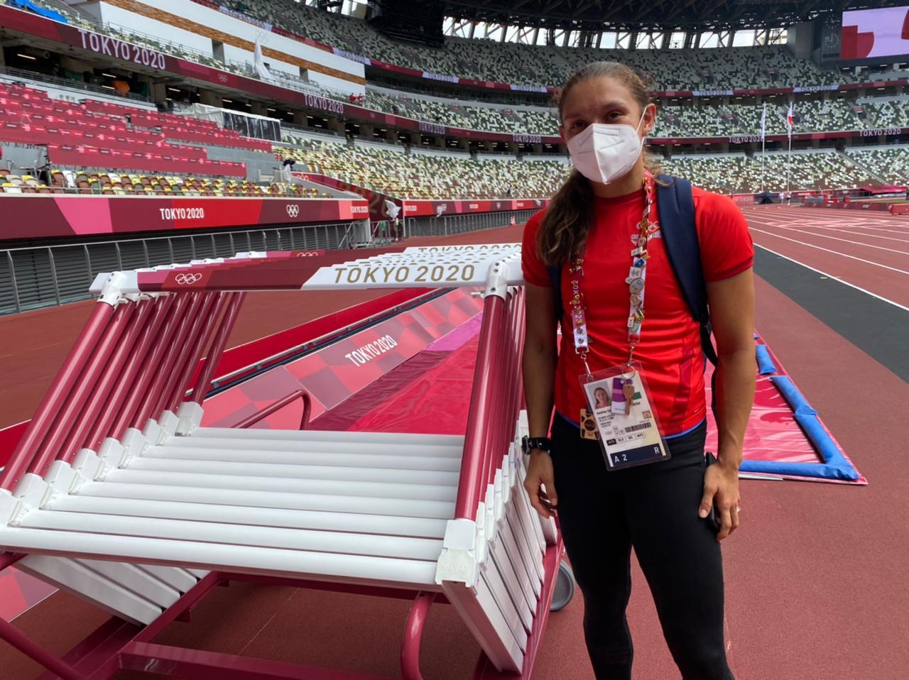 El atletismo costarricense calienta en Tokio 2020