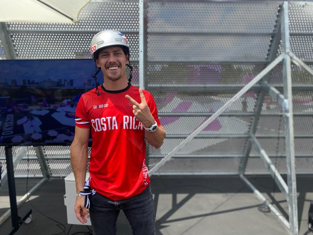 Kenneth Tencio se presentará de sexto en la final de BMX Estilo Libre