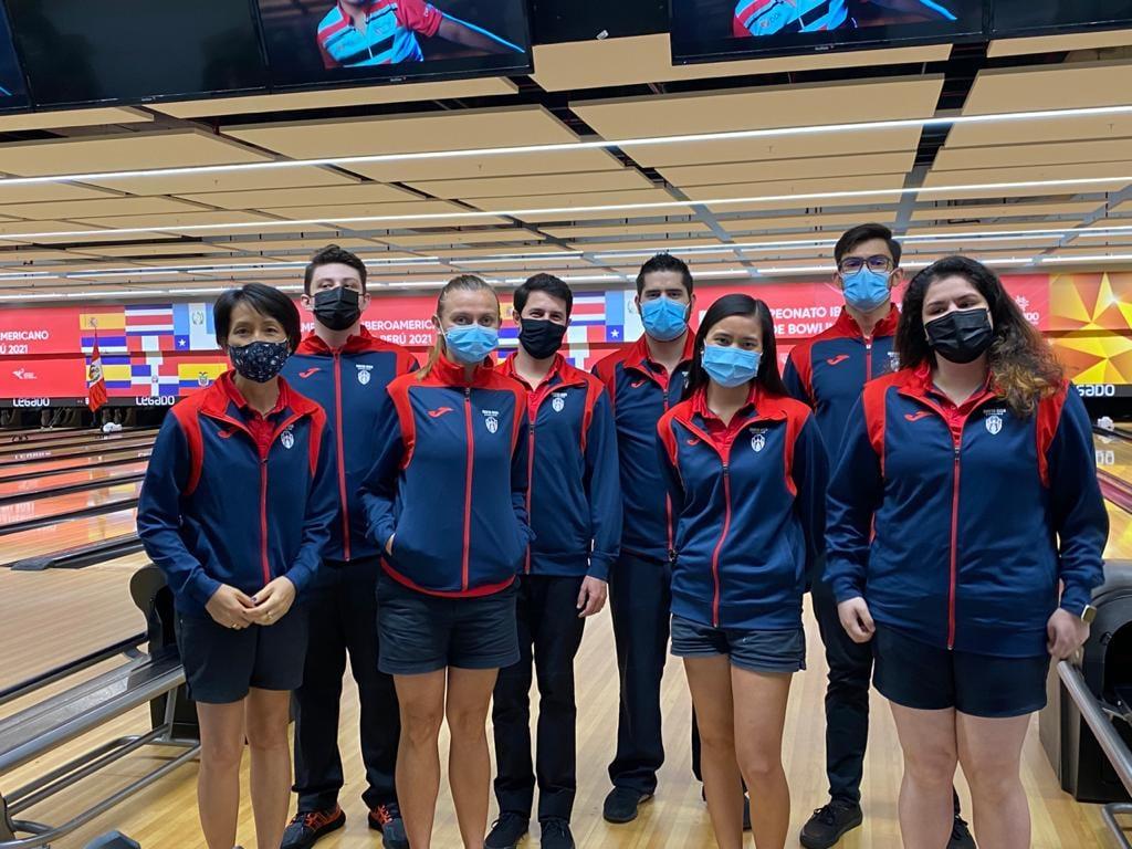 Costarricenses se lucen en Campeonato Iberoamericano de Boliche