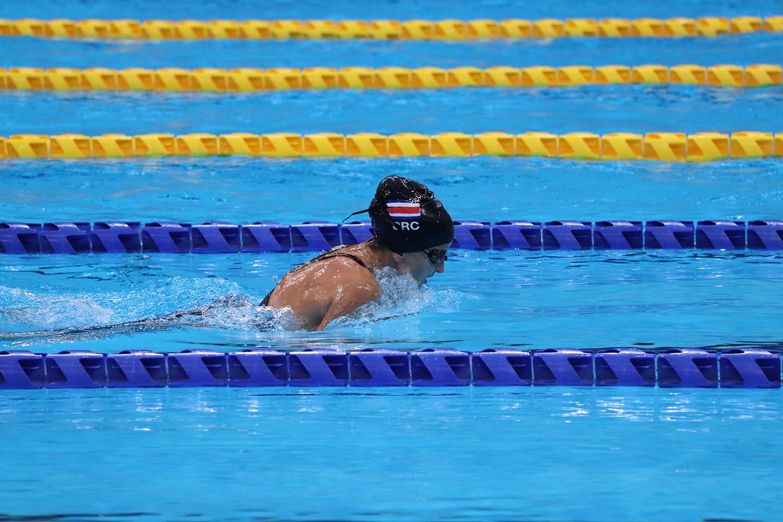 Nadadora paralímpica Camila Haase está entra las 13 mejores del mundo