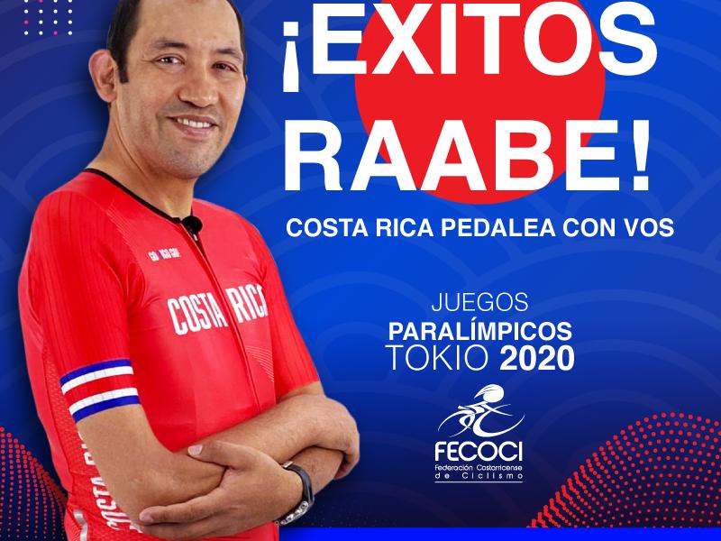 Henry Raabe, primer atleta costarricense en competir en juegos olímpicos y paralímpicos