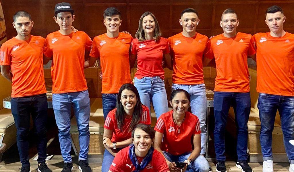Juegos Panamericanos reciben a la Selección Nacional de ciclismo de ruta