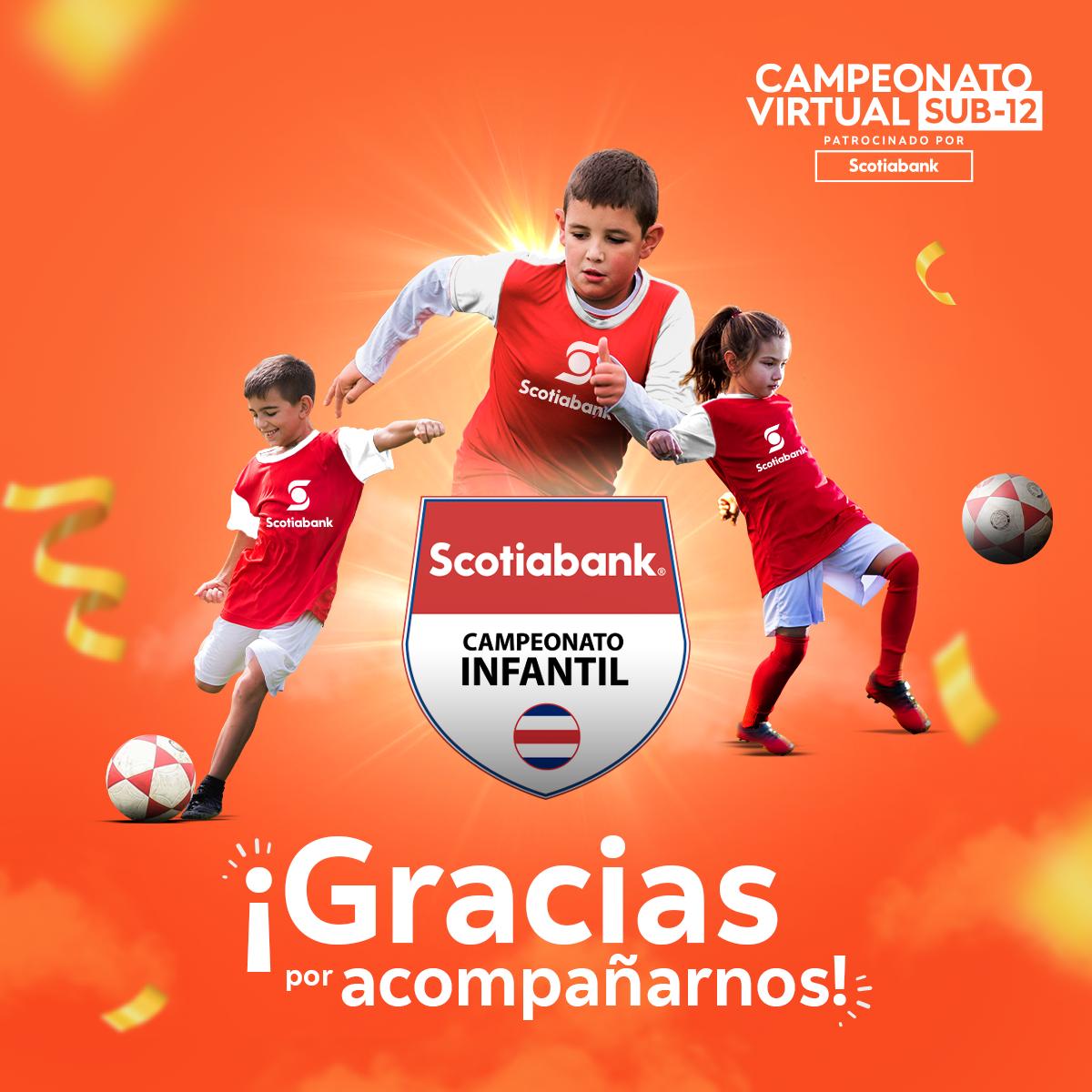 Escuela josefina obtiene el título del Campeonato Virtual Sub-12 patrocinado por Scotiabank