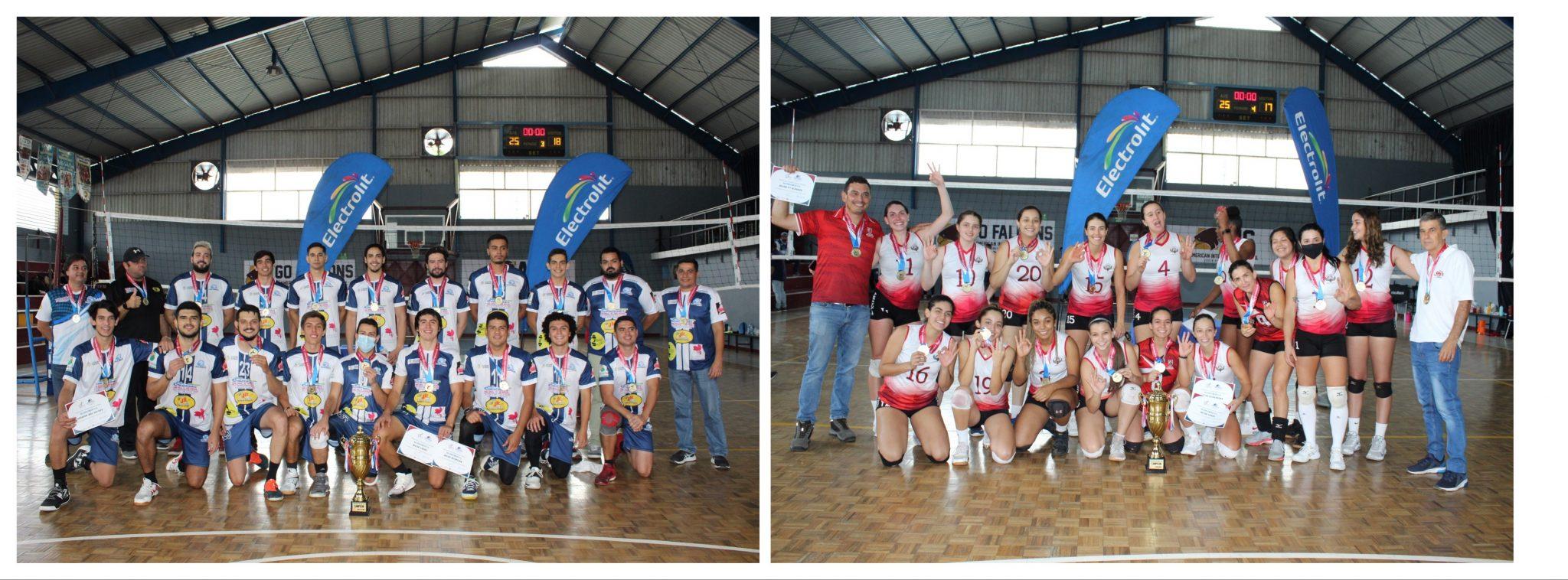 Santa Bárbara y Atenas: Campeones Nacionales en el voleibol costarricense