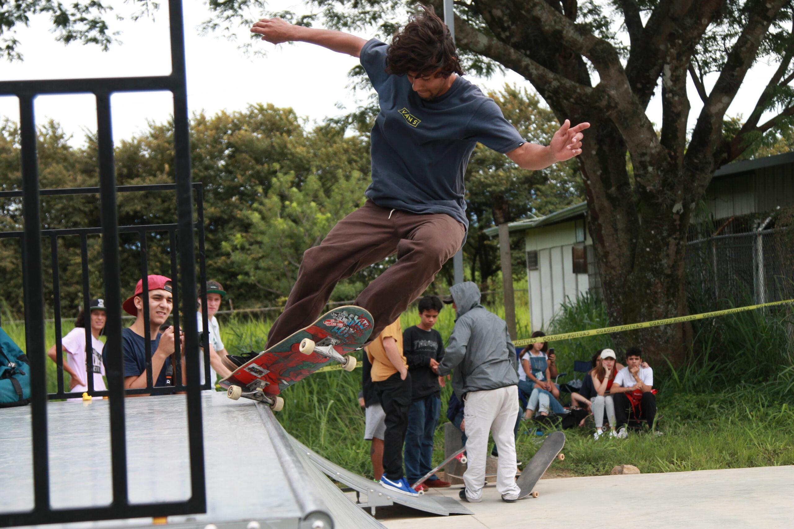 Campeonato Nacional de Skateboarding lleno de alegría y emoción Santa Ana